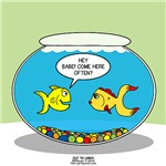 Fishbowl Pickup Line