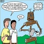 Pioneering Robot