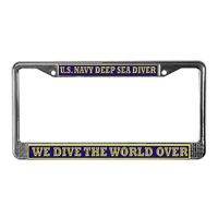 NAVY DIVER License Plate