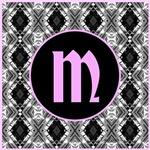 Black Pink Diamond Monogram