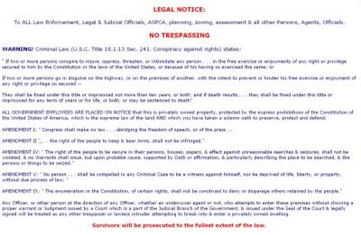 Legal Notice #2 Landscape