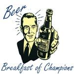 Beer breakfast of Champions