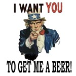 I want you to get me a beer