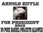 Arnold Ziffle for president 2012 No pork barrel pr