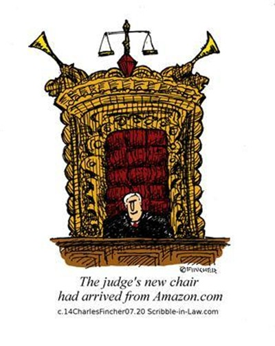 The Judge's New Chair