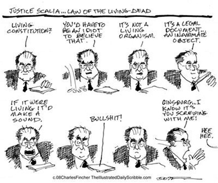 Scalia and the Living Consitution