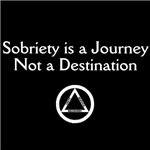 Sobriety is a Journey (Dark Shirts)