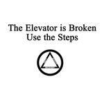Elevator is Broken Use the Steps