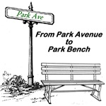 Park Ave to Park Bench