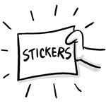 Stinky Stevens Stickers