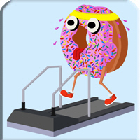Doughnut on a Treadmill