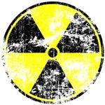 Vintage Radioactive Sign 2