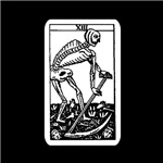 Vintage Death Tarot Card