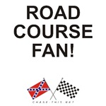 REBEL & CHECKERED FLAG<br />ROAD COURSE FAN