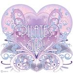 Pilates Girl Chantilly Heart