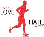 Men's Love Hate Running Washed