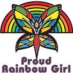 Proud Rainbow Girl