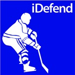 Hockey iDefend Silhouette