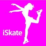 Ice Skating & Figure Skating Pink iSkate Silhouett