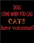cats have voicemail