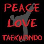 Peace Love Taekwondo Gifts