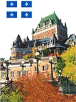 Frontenac Castle and Flag
