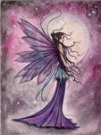 Starlit Amethyst Fairy Fantasy Art