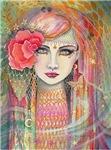 Gypsy Rose Fantasy Art