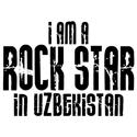Rock Star In Uzbekistan T-shirts