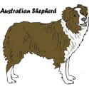 Australian Shepherd T-shirt, Shepherd T-shirts