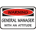 General Manager T-shirt, General Manager T-shirts