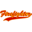 Retro Firefighter T-shirts