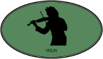 Violin (euro-green)