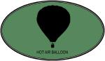 Hot Air Balloon (euro-green)