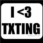 I love Texting