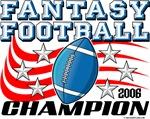 2006 Fantasy Football League Champion Stars and St