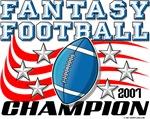 2007 Fantasy Football League Champion Stars and St