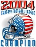 2004 FFL Champion Helmet