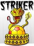 Striker Snake Soccer Ball