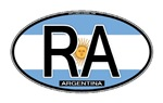 Argentina Oval Colors