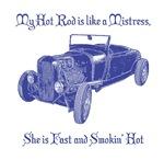 Hot Rod Mistress-Blue