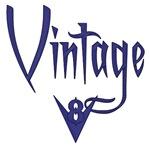 Vintage V8-Blue