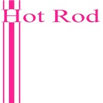 Retro Hot Rod Stripe-Pink
