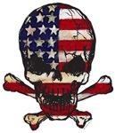 Painted Flag-Skull and Bones