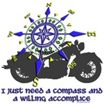 I need a compass...Motorcycle