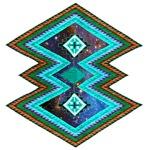 Hipster Navajo Geometric Native Indian Galaxy