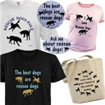 Rescue & Shelter Pets Bumper Stickers, Shirts ...