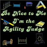 Agility Judge T-shirts and Stickers