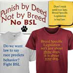 Anti-BSL Stickers, buttons, tees and more