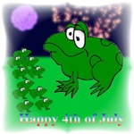 FOURTH OF JULY FROG